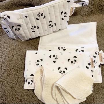 Pack panda + lingetttes Bio...